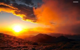 sunset-sky-cloud-sun-mountain