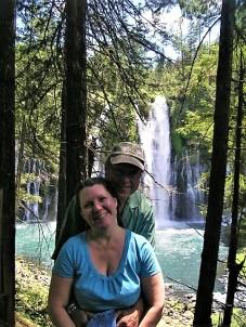 Sweethearts at Burney Falls