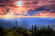 #3 Smokies Sunset - Doug McPherson