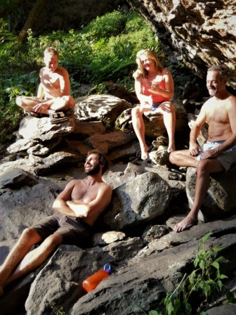 Asheville, NC Waterfalk hike
