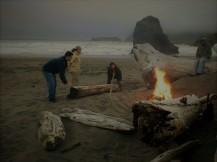 California Coast Bonfire